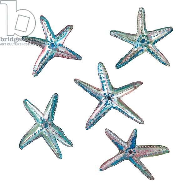 Star Fish, 2020 (w/c on paper)