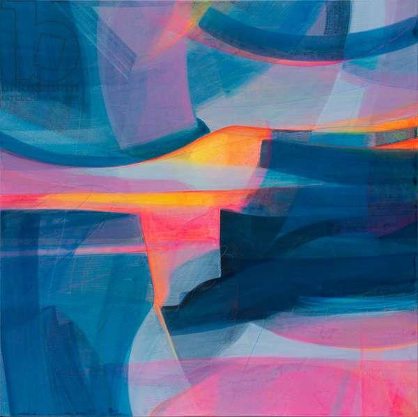 Exhilarating Yet Calming Energy, 2020 (acrylic on canvas)
