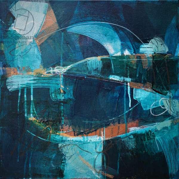 Ebb and Flow, 2019 (acrylic on canvas)