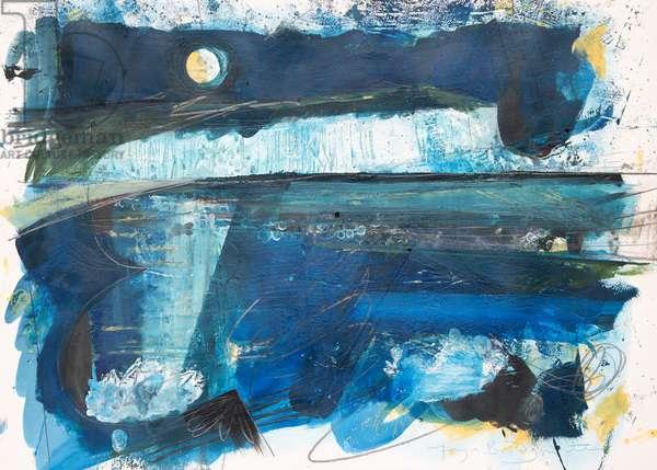 Moonlight, 2020 (acrylic on paper)