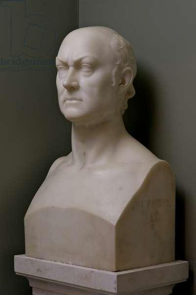 John Quincy Adams, c.1828-29 (marble)