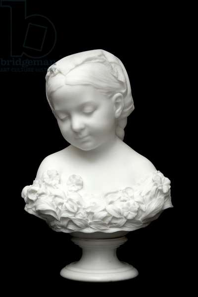 La Petite Pensée, 1872 (marble)