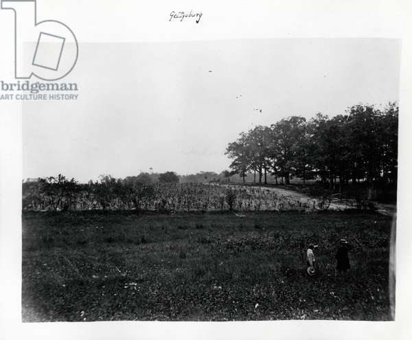 Gettysburg, c.1865 (b/w photo)