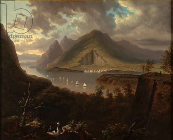 View from Fort Putnam, c.1845 (oil on canvas)