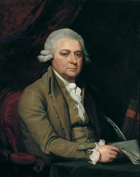 John Adams, 1788 (oil on canvas)