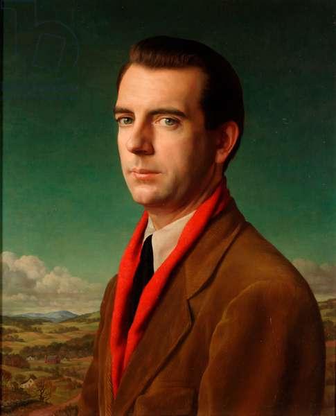 Graham Teller, 1947 (oil and tempera on panel)