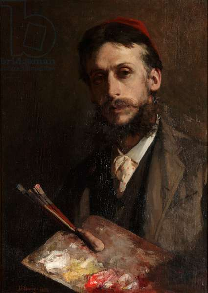 Portrait of Charles Turner, c.1888 (oil on canvas)