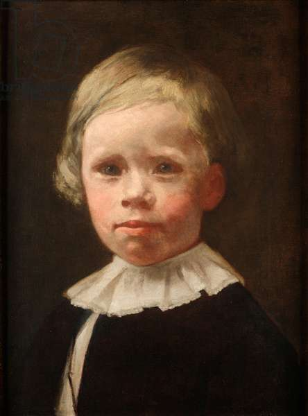 Harrison Hale Schaff, c.1888 (oil on canvas)