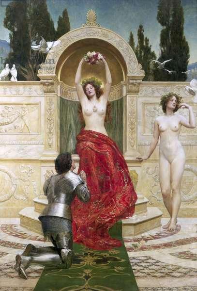 In the Venusburg (Tannhauser), 1901 (oil on canvas)