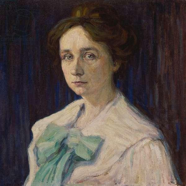 Gabriele Münter, 1905 (oil on canvas)