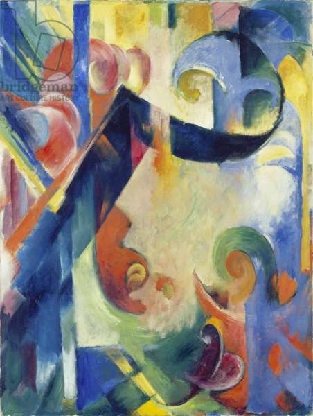 Broken Forms, 1914 (oil on canvas)