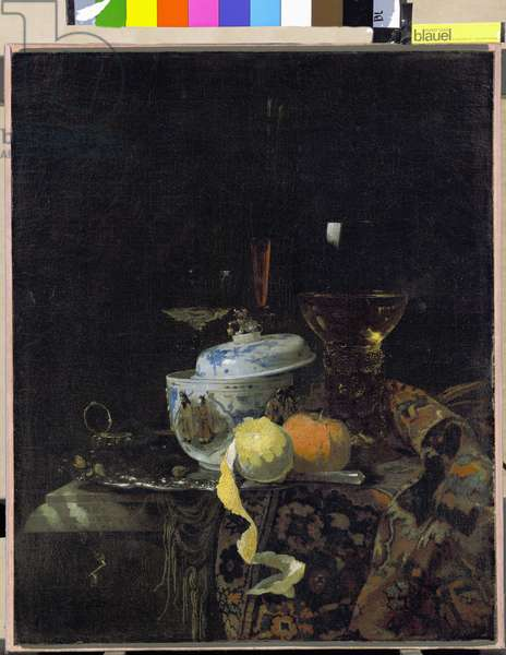 Still Life with Chinese Porcelain Box, 1662 (oil on canvas)
