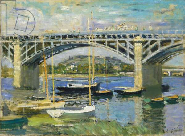 Bridge over the River at Argenteuil, 1874 (oil on canvas)