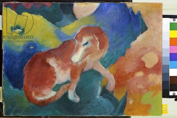 The Red Dog, 1911 (oil on canvas)