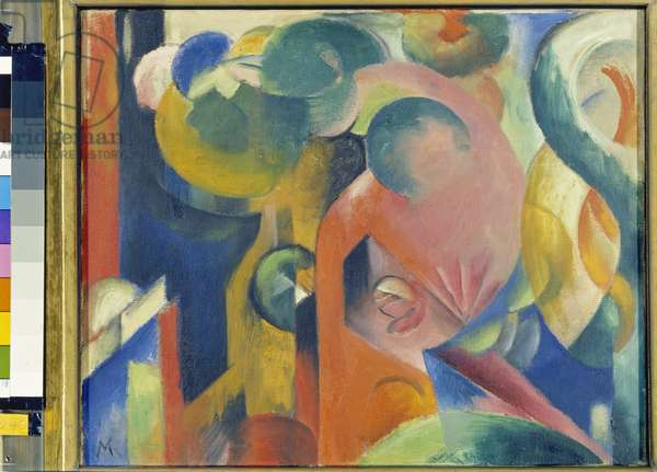 Small Composition II, 1913-14 (oil on canvas)