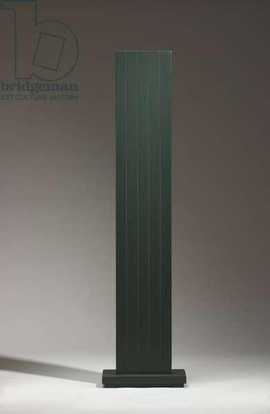 Green: Five, 1962 (oil on poplar wood)