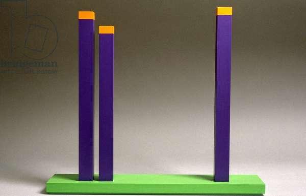 Prava XXXIII, 1993 (acrylic on wood)