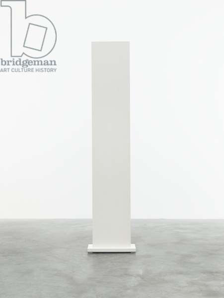 White: One, 1962 (latex (semi-gloss enamel) on wood)