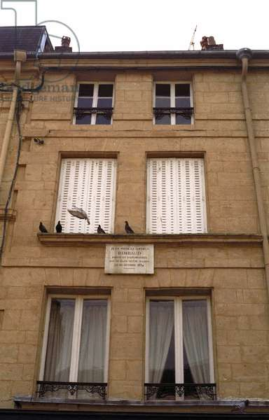 Home of Arthur Rimbaud, French poet, 12 rue Beregovoy in Charleville Mezieres.