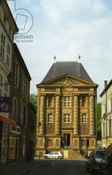 The Musee Arthur Rimbaud in the Old Moulin was created in the 17th century by Clement Metezeau, Charleville Mezieres.