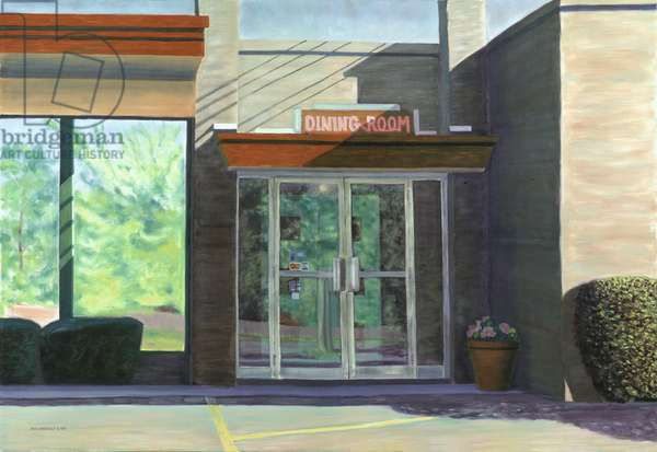 Dining Room (Landscape Reflections), 1997 (oil on canvas)