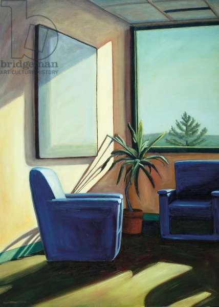 Conversation, 2002 (oil on canvas)