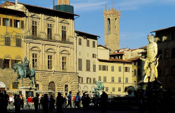 Piazza della Signoria: Topographic Views, 1997 (photo)