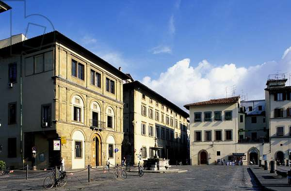 Piazza Santa Croce: Topographic Views, 1994 (photo)