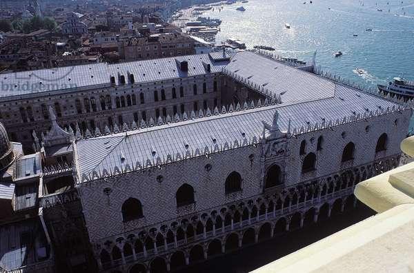 Venice: Aerial Topographic Views, 1996 (photo)