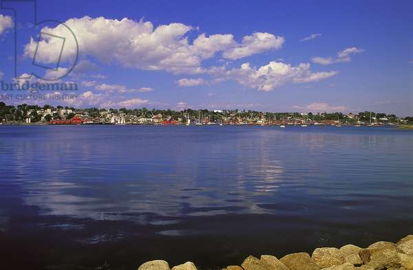 Topographic Views, Lunenburg, Nova Scotia, 1995 (photo)