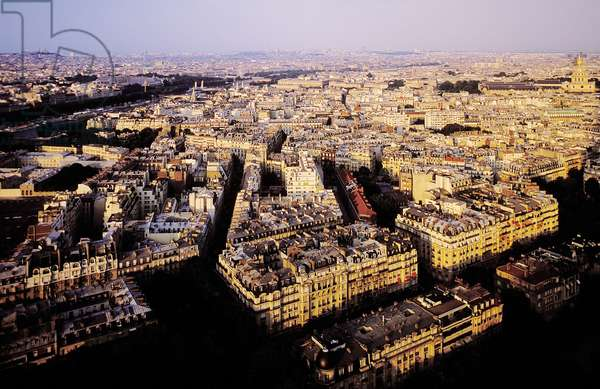 Paris: Aerial Topographic Views, 2001 (photo)