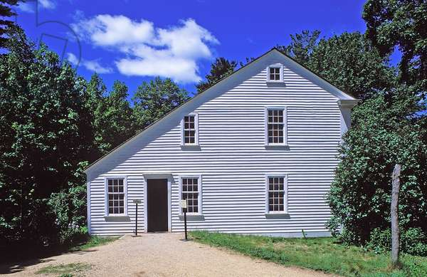 Old Sturbridge Village: Topographic Views, Massachusetts, 1997 (photo)