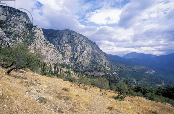 Delphi: Topographic Views of the Site, 1997 (photo)