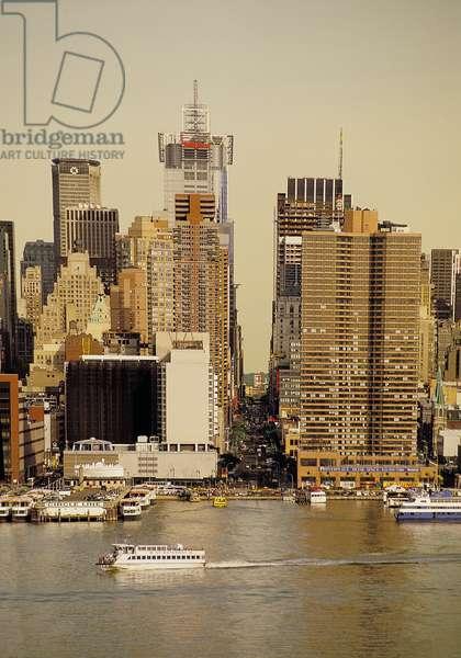New York: Mid-Town Manhattan, Topographic Views, 2001 (photo)