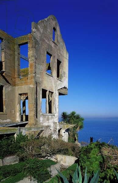 Alcatraz Island: Topographic Views, c.2000 (photo)