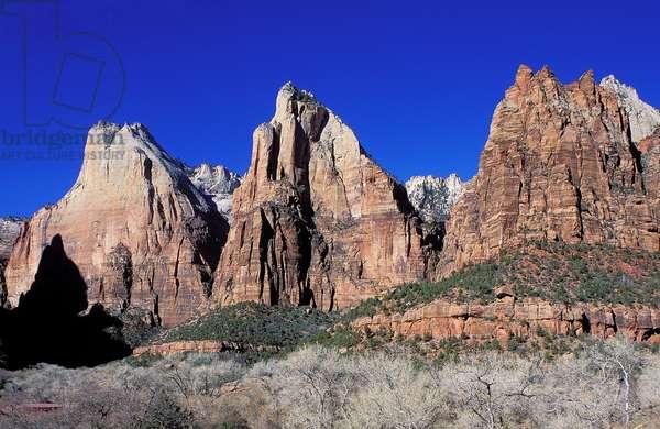 Topographic Views, Zion National Park, Utah, 2001 (photo)