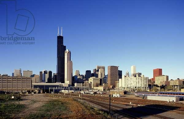 Chicago: Skylines, Topographic Views, 1995 (photo)