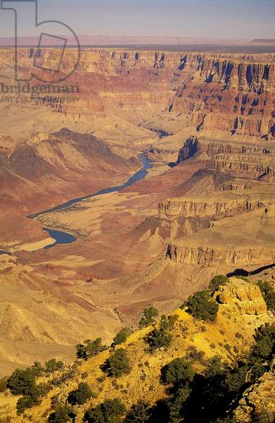 Grand Canyon National Park: Topographic Views, 2000 (photo)