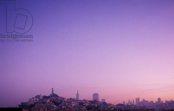 San Francisco: Skylines, Topographic Views, c.1999 (photo)