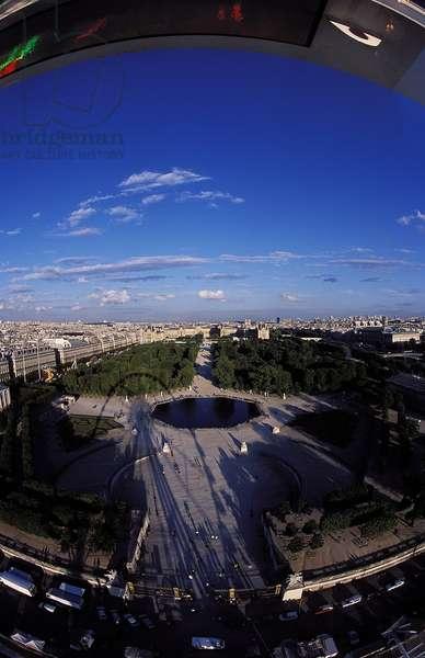 Paris: Aerial Topographic Views, 2001 (photo)