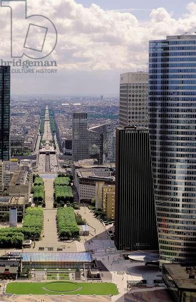 La Défense: Topographic Views, Paris, 2001 (photo)