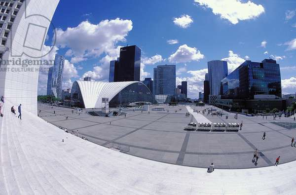 La Défense: Topographic Views, Paris, 2001 (photo)