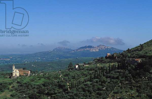 Italian Hill Towns: Topographic Views, c.1994 (photo)