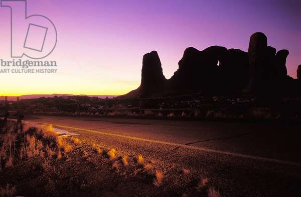 Arches National Park: Topographic Views, c.2001 (photo)