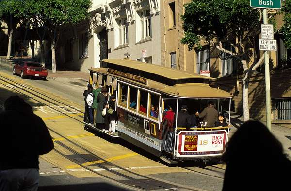 Trolley Cars (San Francisco), c.1999 (photo)