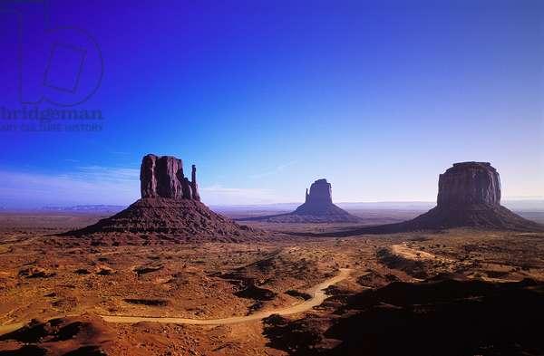 Monument Valley: Topographic Views, c.1997 (photo)