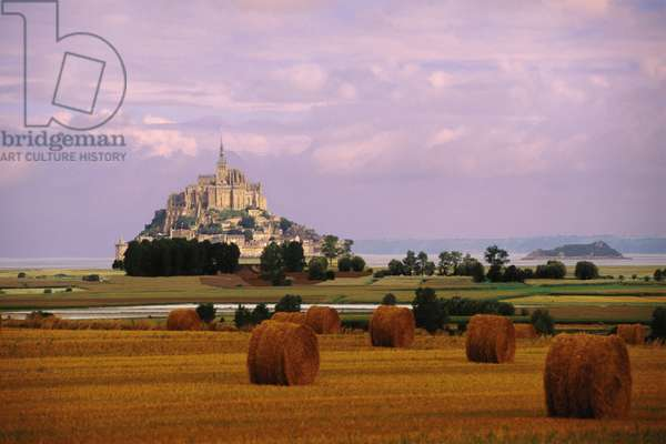 France: Creative Photography, Mont-St-Michel, c.1997 (photo)