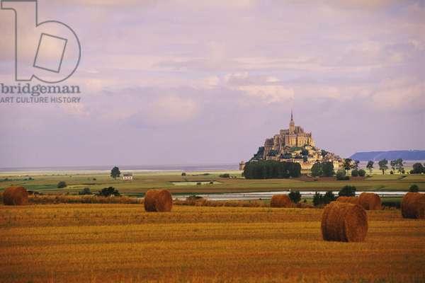 France: Creative Photography, Mont-St-Michel, c.1997 (photo)