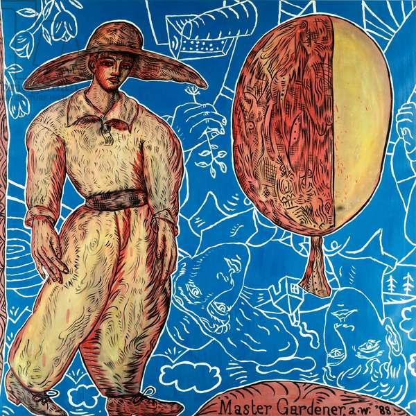 Master Gardener, 1989 (oil on canvas)
