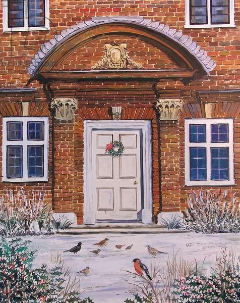 Blickling Hall, 2004 (oil on panel)
